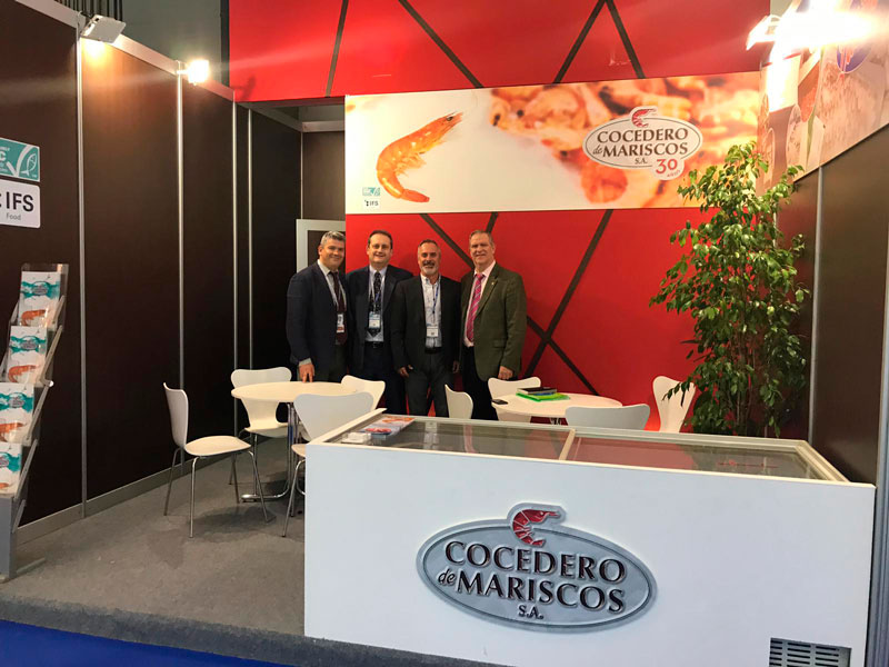 Feria Conxemar 2019 en Vigo sobre pescado y marisco